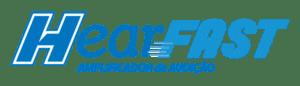 HearFast - logo azul